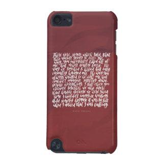 Liebe-Zitate: Es gab Zeichen iPod Touch 5G Hülle