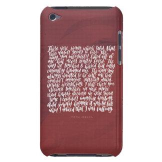 Liebe-Zitate: Es gab Zeichen iPod Touch Cover