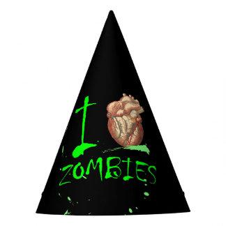 Liebe-Zombie-Party Apokalypse I Halloweens untotes Partyhütchen