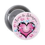 Liebe zu Shampoo-Knopf ©StyleStickers™ Button