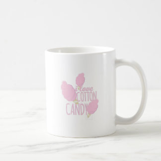 Liebe-Zuckerwatte Kaffeetasse