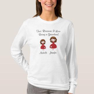 Liebe zwei Gründe I, die eine Großmutter ist T-Shirt