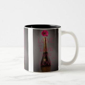 Liebe Zweifarbige Tasse