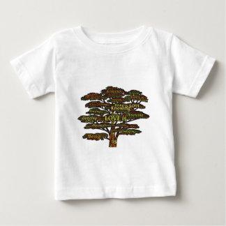 Liebeattribute Baby T-shirt