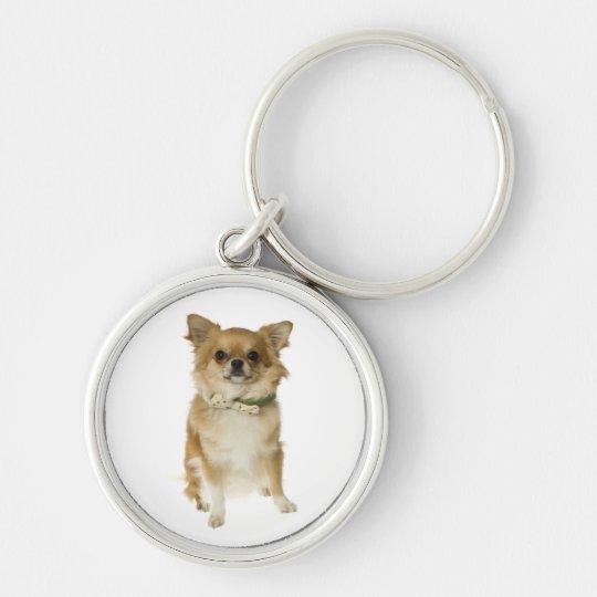Liebechihuahua-Welpen-Hundeschlüsselkette Schlüsselanhänger