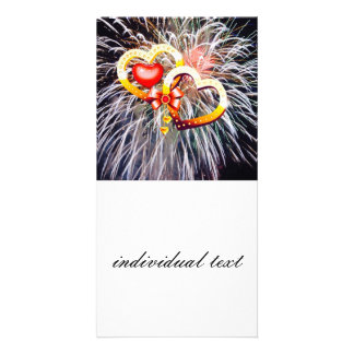 Liebefeuerwerke Fotogrußkarten