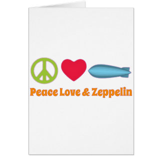 Liebefrieden und Zeppelin Karte