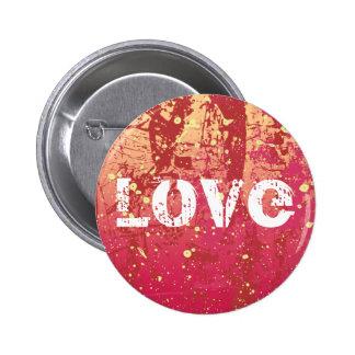 Liebegrunge-städtischer Sonnenaufgang-Knopf Runder Button 5,7 Cm