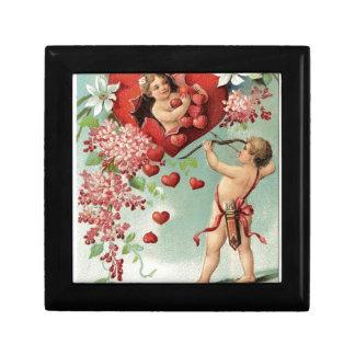 Liebeherzengels-Engel Vintager Valentine Erinnerungskiste