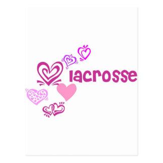 LiebeLacrosse Postkarte