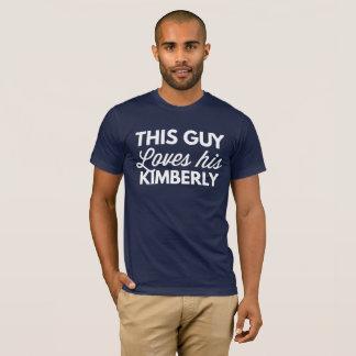 Lieben dieses Typ seine Kimberly T-Shirt