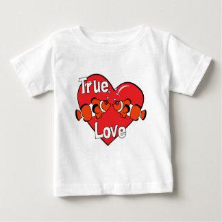 Liebender Clownfish Baby-T - Shirt