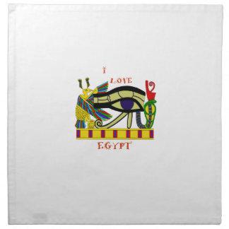 Liebendes Ägypten Serviette