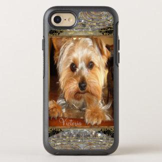 Liebendes Yorkies oder fügen Ihr eigenes Foto ein OtterBox Symmetry iPhone 8/7 Hülle