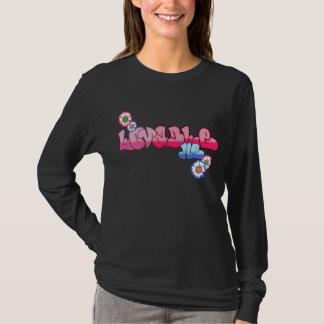 Liebenswürdig ich Damen-langer Hülsen-T - Shirt