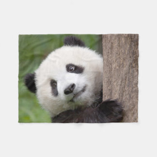 Liebenswürdige Pandabärn-Fleecedecke Fleecedecke