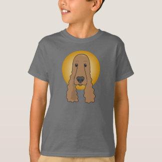 Liebenswürdiger Cockerspaniel, der T - Shirt der