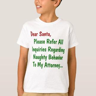 Lieber Sankt-Rechtsanwalt - lustiger T-Shirt