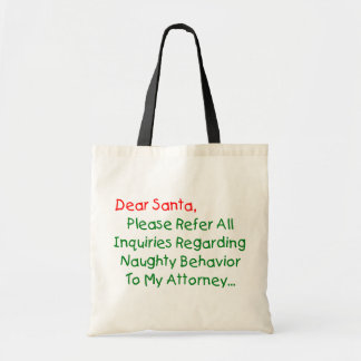 Lieber Sankt-Rechtsanwalt - lustiger Tragetasche