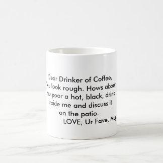 Lieber Trinker Kaffeetasse