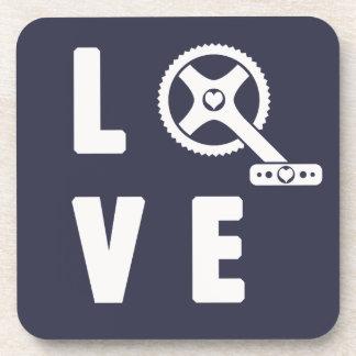 Lieberadfahren Untersetzer