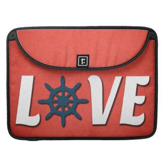 Liebeseeentwurf Sleeve Für MacBooks