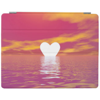 Liebesonnenuntergang - 3D übertragen iPad Hülle
