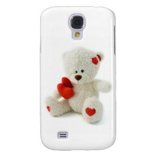 LiebeTeddyvalentine-Gewohnheits-Hüllen Galaxy S4 Hülle