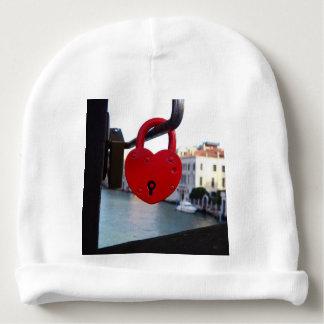 Liebeverschluß in Venedig Babymütze