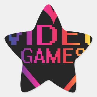 Liebevideospiele Aufkleber