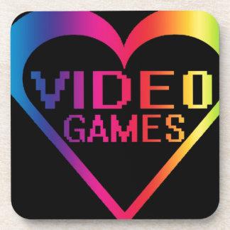 Liebevideospiele Drink Untersetzer