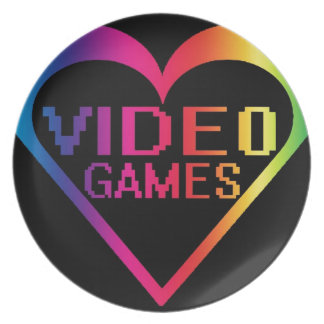 Liebevideospiele Flache Teller