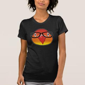 Liebevogel mit Gläsern T-Shirt