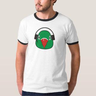 Liebevogel mit Kopfhörer T-Shirt