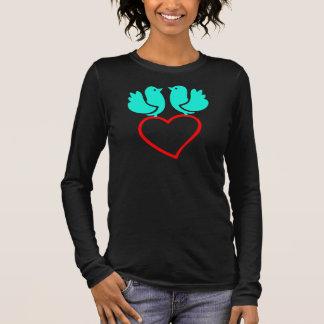 Liebevogellied Langarm T-Shirt