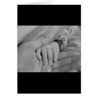 Liebevolle Hände Grußkarte