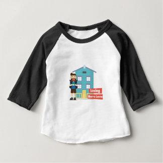 Liebevolles Sierra Leone Baby T-shirt