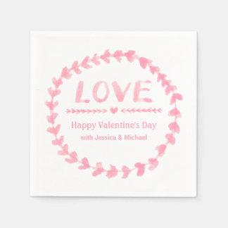 Liebewreath-Valentinstag-Party-Versorgungen Papierserviette