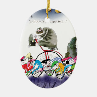 Liebeyorkshire-Tropfen o'rain Keramik Ornament