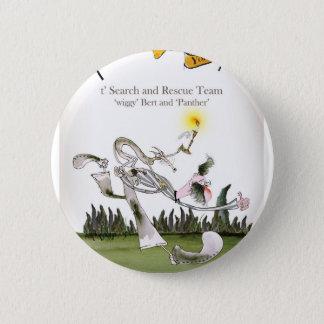 Liebeyorkshiresuche und -rettung runder button 5,1 cm