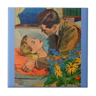 Liebhaber in der Liebe Keramikfliese