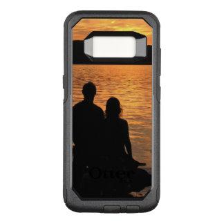 Liebhaber Kasten am Sunset See OtterBox Galaxie-S8 OtterBox Commuter Samsung Galaxy S8 Hülle