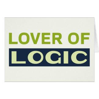 Liebhaber von Logik Karte