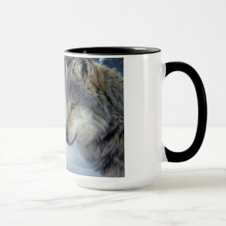 Liebhaberwölfe sedesign, zum auf der Schale besser Tasse
