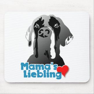 Liebling Mutter Mauspads