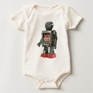 Lieblingskanone des spielzeug-Roboter-w Baby Strampler