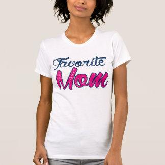 Lieblingsmamma-athletisches T-Stück Tshirt