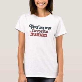Lieblingsmensch für Valentinstag oder irgendeinen T-Shirt