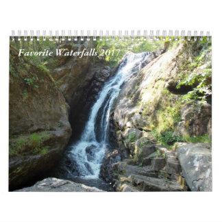 Lieblingswasserfälle 2017 abreißkalender