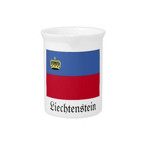 Liechtenstein-Flaggen-Krug